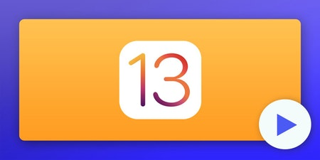 An illustration representing The iOS 13 icon.